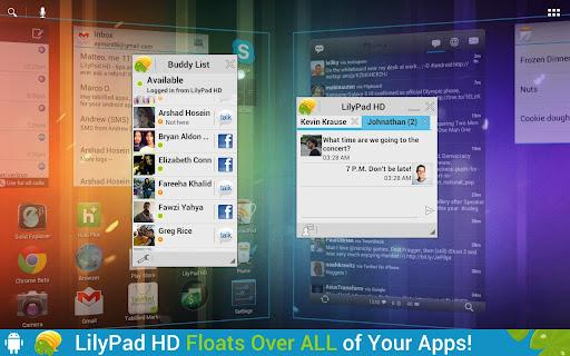 LilyPad HD - floating chat - Imagem 1 do software
