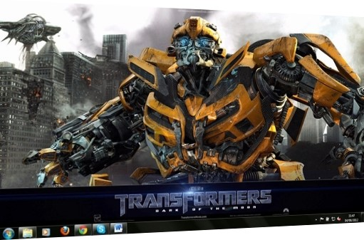Transformers Windows 7 Theme.