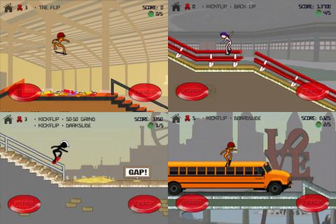 Stickman Skater - Imagem 1 do software
