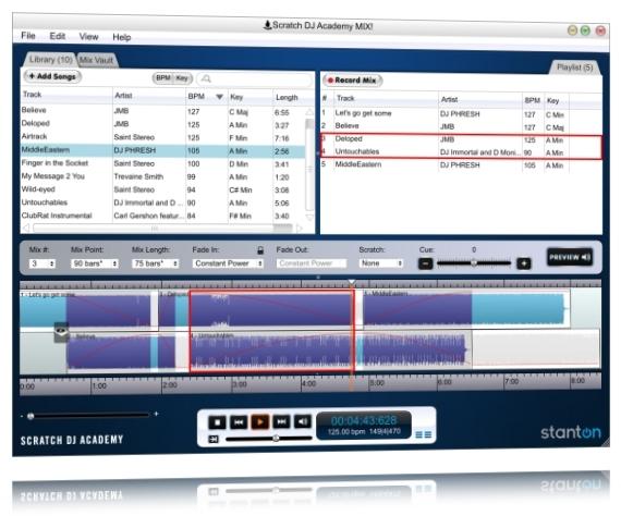 Scratch DJ Academy MIX! - Imagem 1 do software