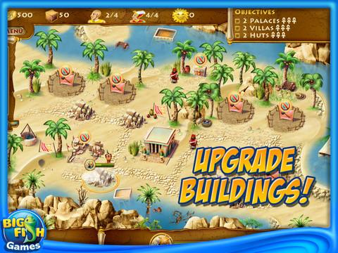 Time Builders: Pyramid Rising HD - Imagem 2 do software