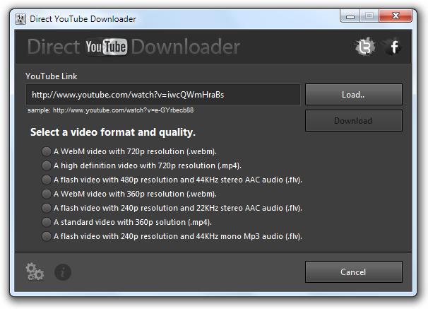 Direct YouTube Downloader Download para Windows Grátis