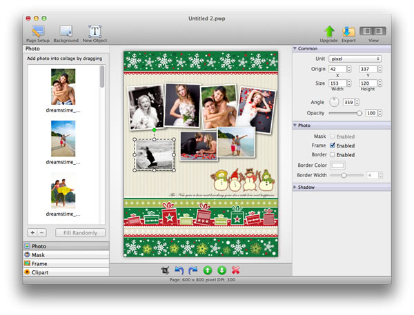 Picture Collage Maker 2012 - Imagem 1 do software