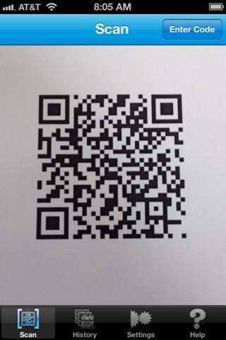 NeoReader ? QR reader, barcode scanner, & more - Imagem 1 do software