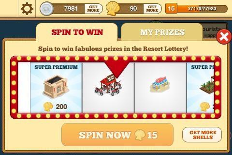 Tap Resort Party - Imagem 2 do software