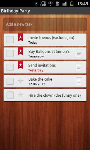 Wunderlist Task Manager - Imagem 3 do software