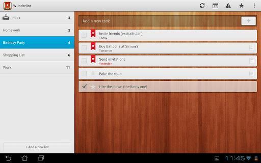 Wunderlist Task Manager - Imagem 1 do software