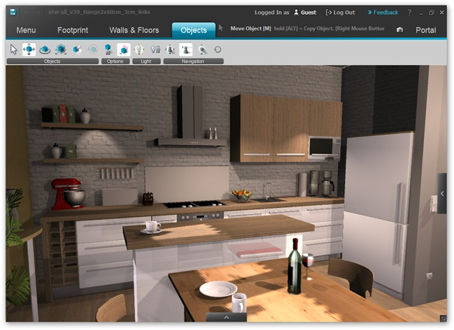 Roomeon 3D-Planner - Imagem 2 do software