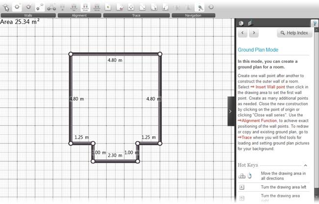 Roomeon 3D-Planner - Imagem 4 do software
