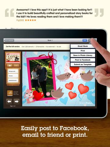 ScrapPad Valentine`s Day Scrapbooking - Imagem 2 do software