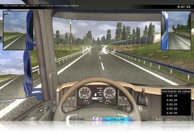 Scania Truck Driving Simulator.