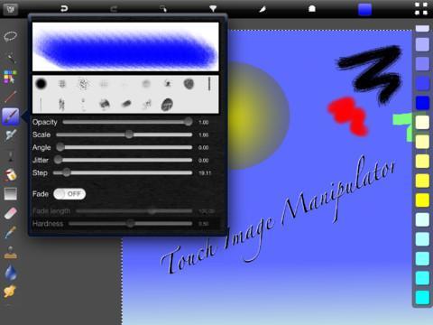Touch Image Manipulator - Imagem 1 do software