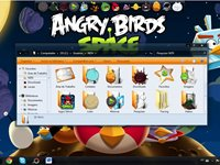 Imagem 3 do Angry Birds Space Transformation Skin Pack