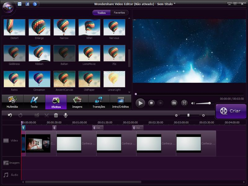 Wondershare Video Editor - Imagem 2 do software
