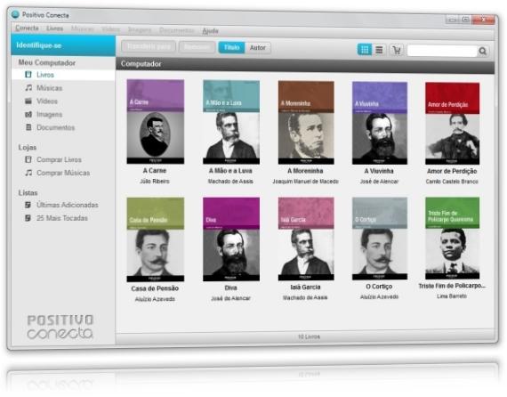 Positivo Conecta - Imagem 1 do software