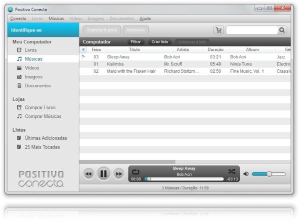 Positivo Conecta - Imagem 2 do software