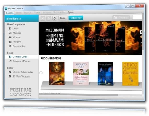 Positivo Conecta - Imagem 3 do software