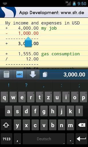 CalcTape calculadora - Imagem 2 do software