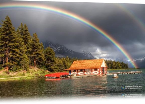 Rainbows Windows 7 Theme.