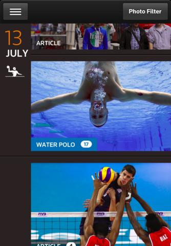 Reuters Olympics London 2012 - Imagem 1 do software