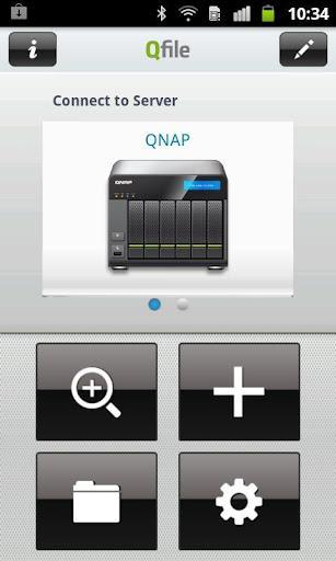 Qfile - Imagem 2 do software