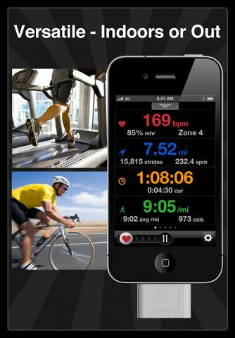 Digifit iCardio Multi-Sport Heart Rate Monitor Training - Imagem 1 do software