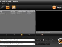 Imagem 1 do Aunsoft Video to Audio Converter