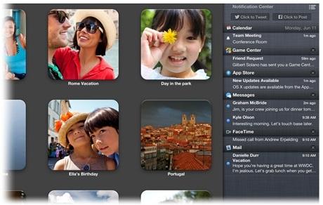 Visualização mesmo em apps em tela cheia