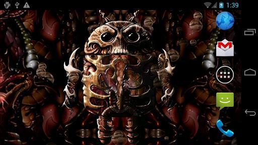 Biomechanical Droid Free - Imagem 1 do software