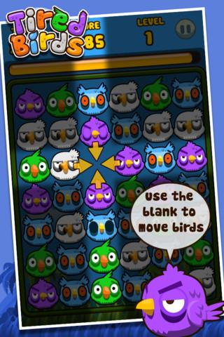 Tired Birds - Imagem 1 do software
