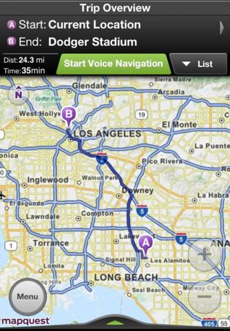 MapQuest - Imagem 1 do software