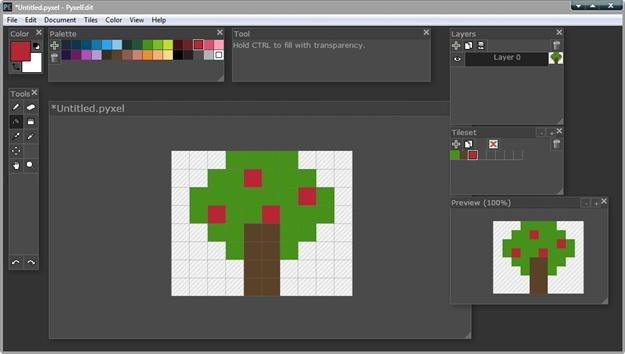 PyxelEdit - Imagem 1 do software
