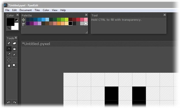 PyxelEdit - Imagem 2 do software