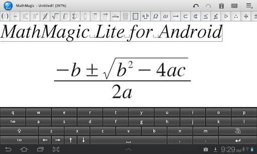 MathMagic Lite - Imagem 1 do software