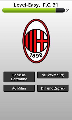 Futebol Club Logo Quiz - Imagem 2 do software