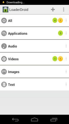 Loader Droid - Imagem 1 do software