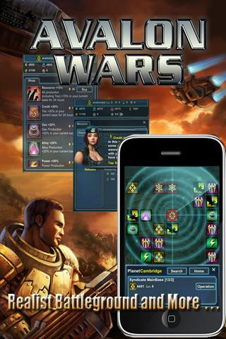 Avalon Wars - Imagem 2 do software