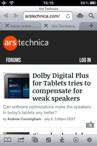 iCab Mobile - Imagem 1 do software