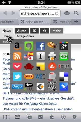 iCab Mobile - Imagem 2 do software