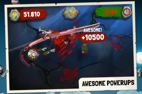 Zombie Swipeout Free - Imagem 1 do software