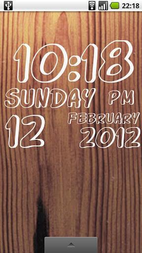 DIGI Clock Live Wallpaper - Imagem 2 do software