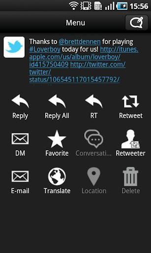TwitRocker2 - twitter client - Imagem 2 do software