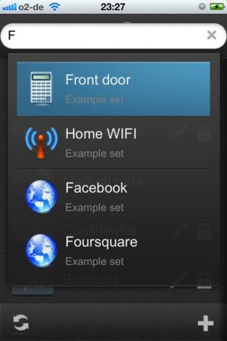 SecuStore - Imagem 2 do software