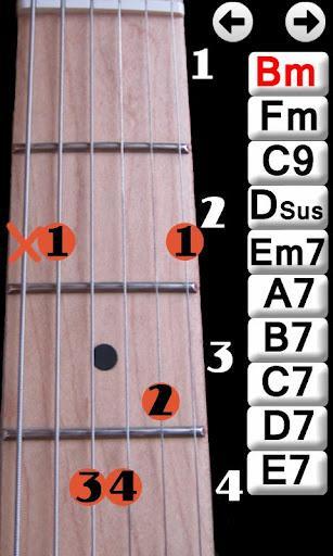 Learn Guitar Chords - Imagem 1 do software