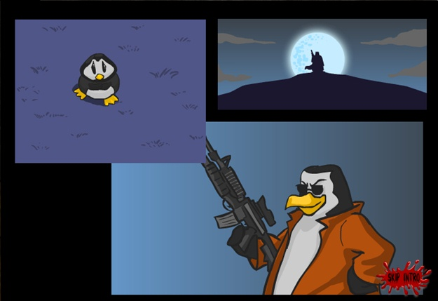 Zombies Vs Penguins - Imagem 2 do software
