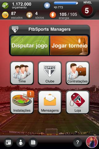 São Paulo FC Fantasy Manager - Imagem 1 do software