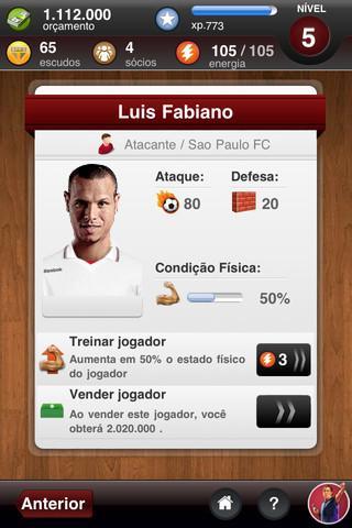 São Paulo FC Fantasy Manager - Imagem 2 do software