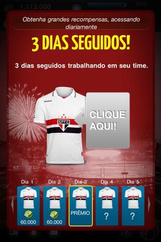 São Paulo FC Fantasy Manager - Imagem 4 do software
