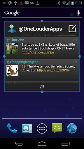 TweetCaster Pro for Twitter - Imagem 1 do software