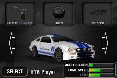 HTR High Tech Racing - Imagem 1 do software